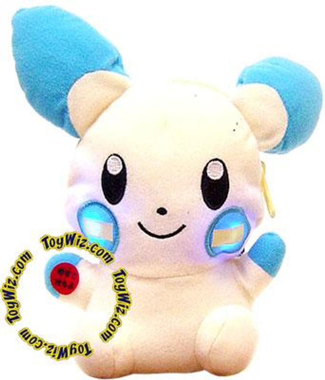 Pokemon Minun 5-Inch Plush [Light Up Pouch]