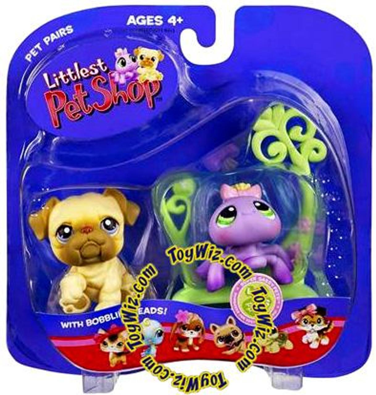 Littlest Pet Shop Pet Pairs Dog & Spider Figure 2-Pack