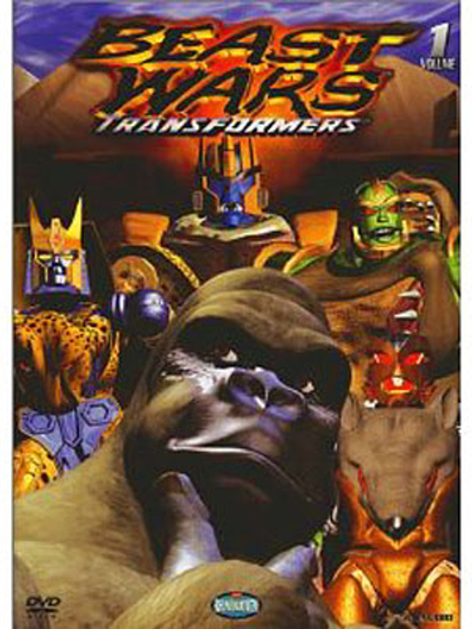 Transformers Beast Wars Volume 1 DVD