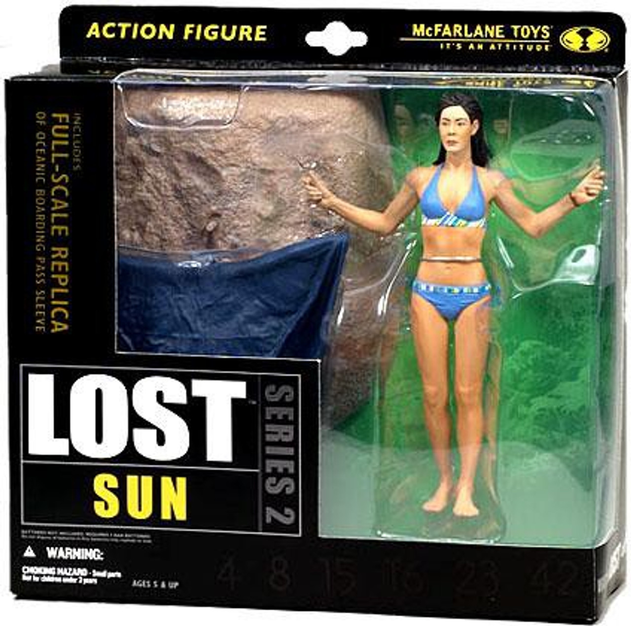 McFarlane Toys Lost Series 2 Sun Action Figure