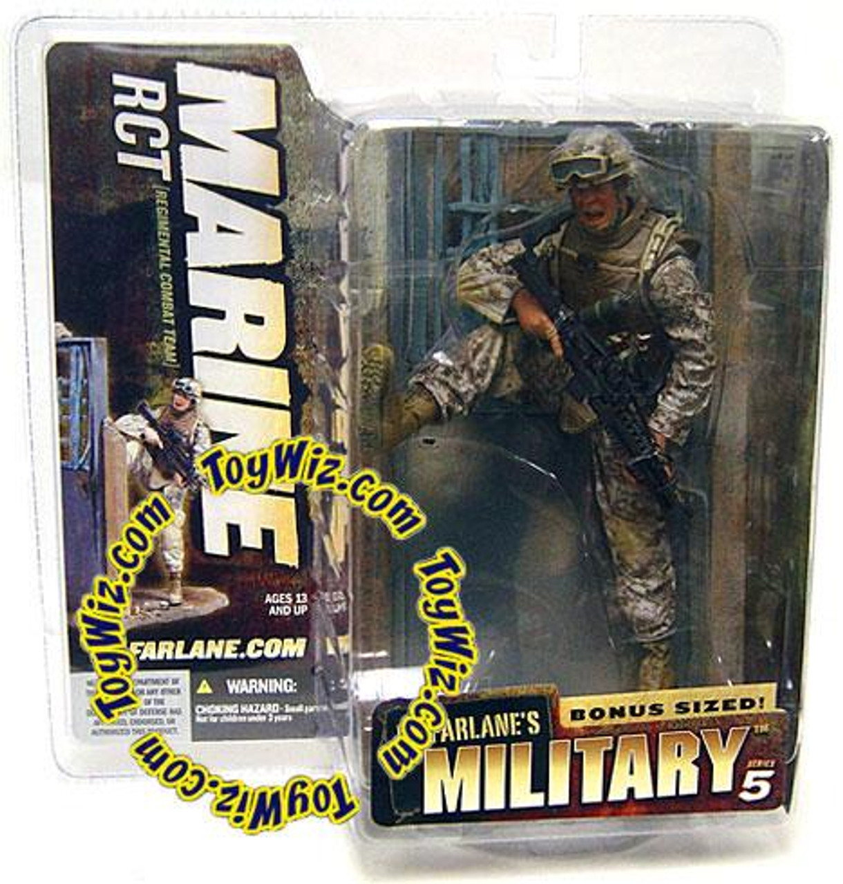 McFarlane Toys Military Series 5 Marine RCT Action Figure [Random Ethnicity]
