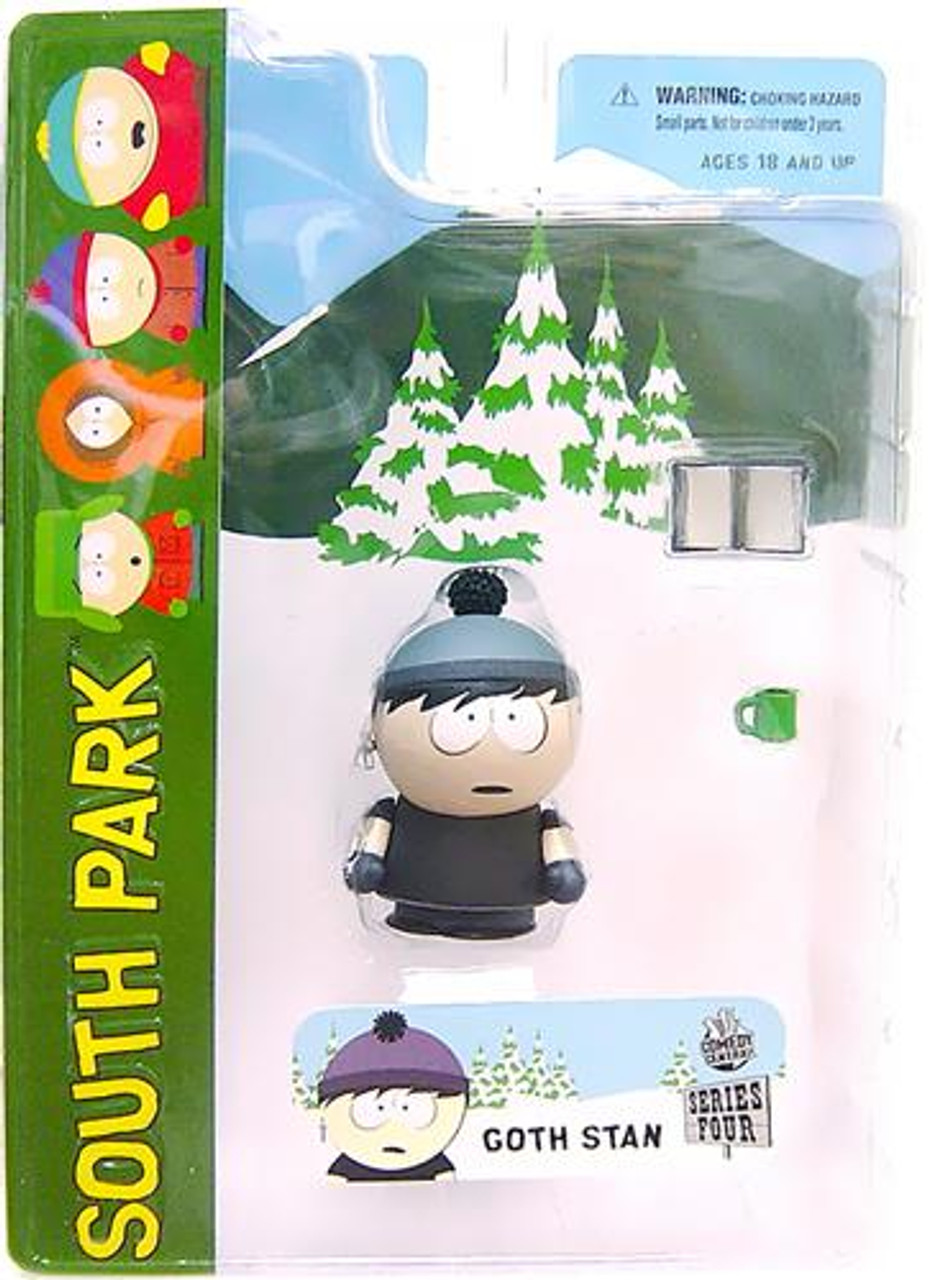 South Park Series 4 Stan Action Figure [Goth]