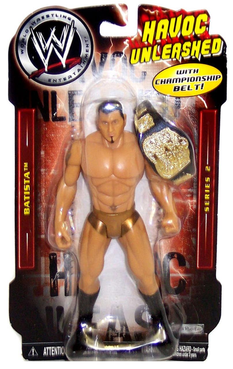 WWE Wrestling Havoc Unleashed Series 2 Batista Action Figure