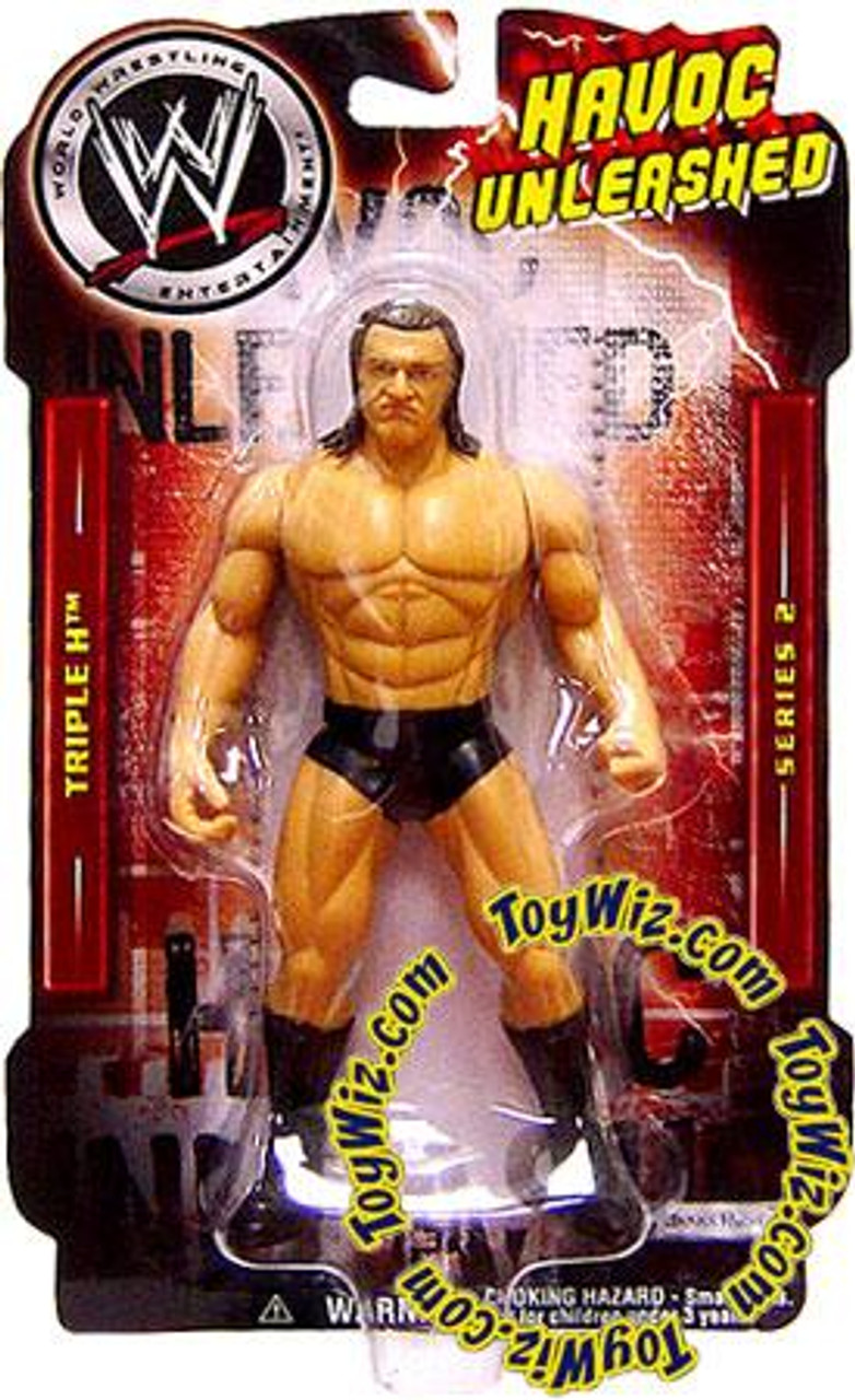 WWE Wrestling Havoc Unleashed Series 2 Triple H Action Figure