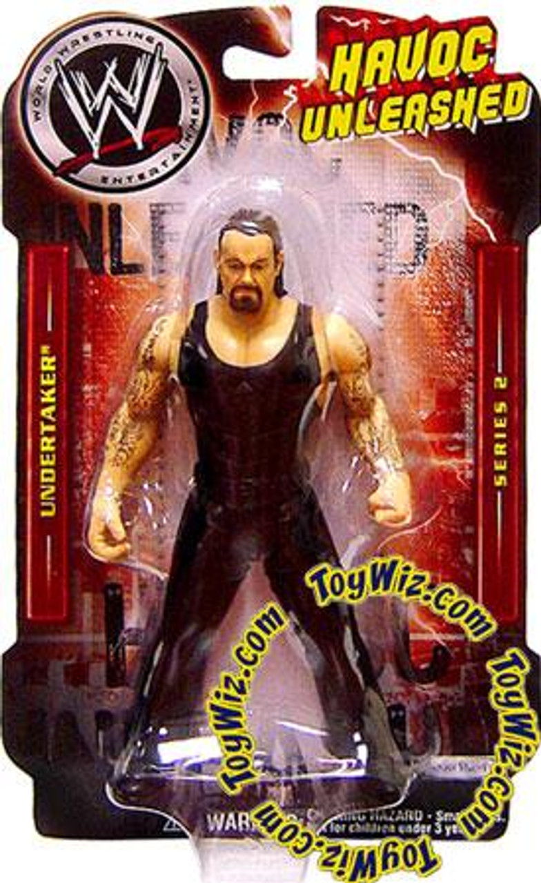 WWE Wrestling Havoc Unleashed Series 2 Undertaker Action Figure