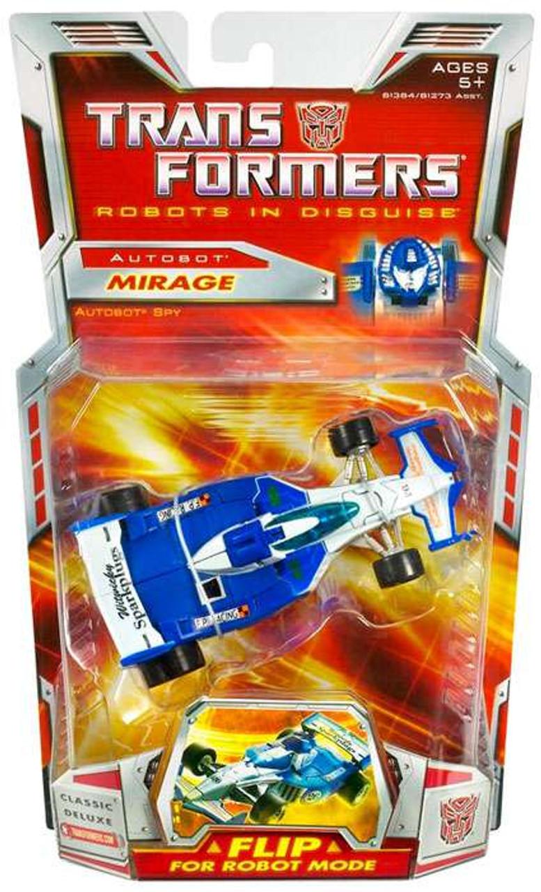 Transformers Robots in Disguise Classics Deluxe Mirage Deluxe Action Figure