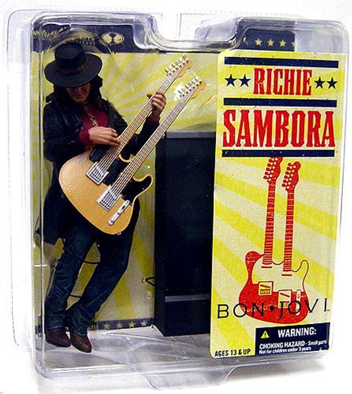 McFarlane Toys Bon Jovi Rock 'n Roll Richie Sambora Action Figure