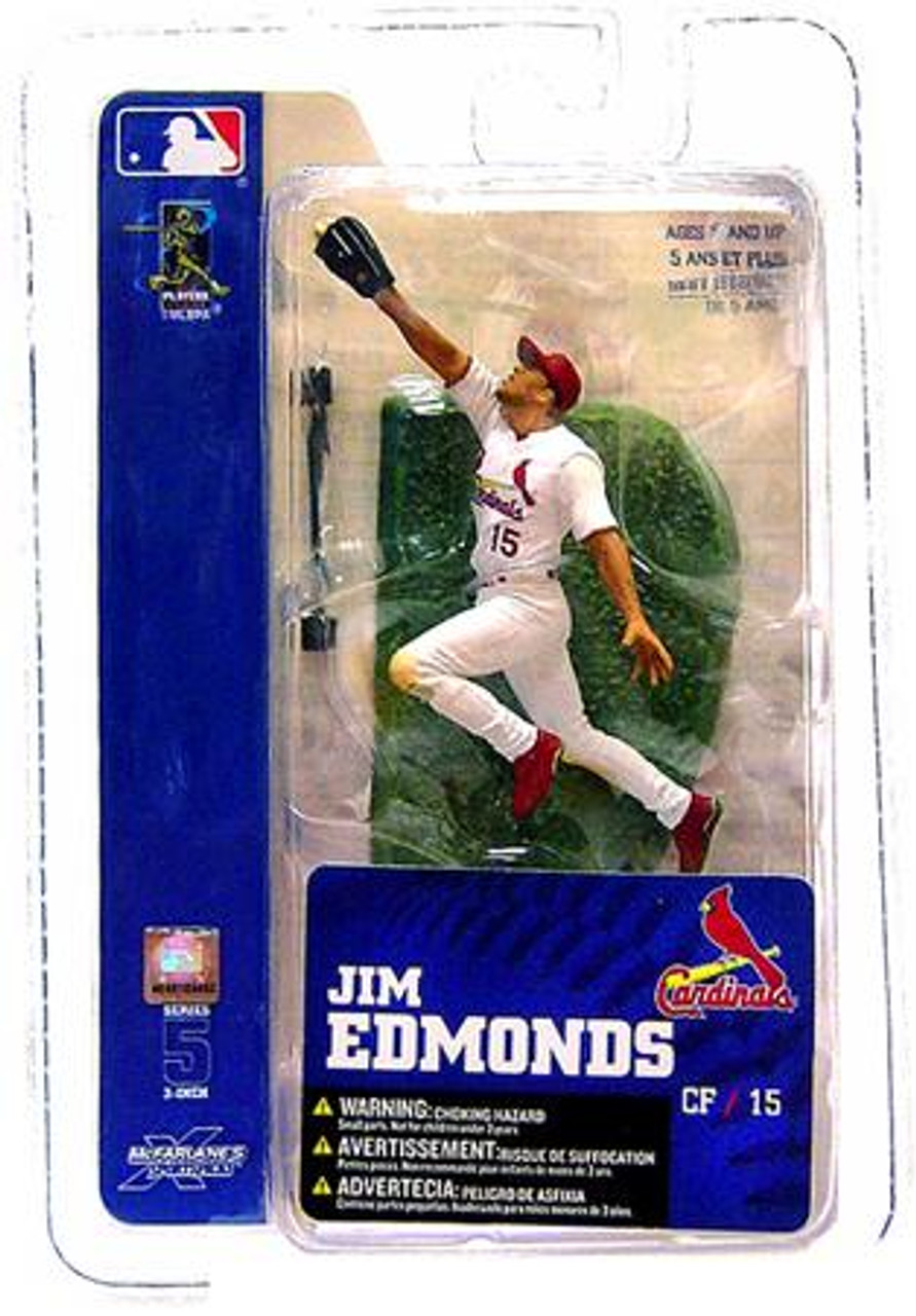 McFarlane Toys MLB St. Louis Cardinals Sports Picks 3 Inch Mini Series 5 Jim Edmonds Mini Figure