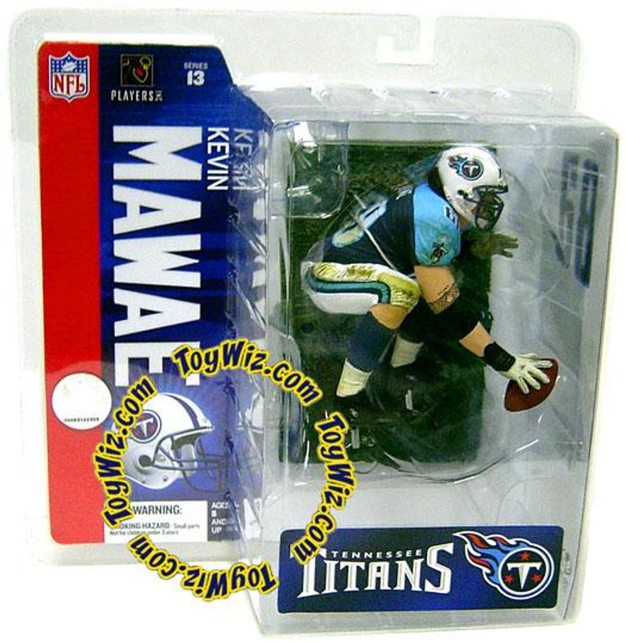 McFarlane Toys NFL Tennessee Titans Sports Picks Series 13 Kevin Mawae Exclusive Action Figure [Chase Piece]