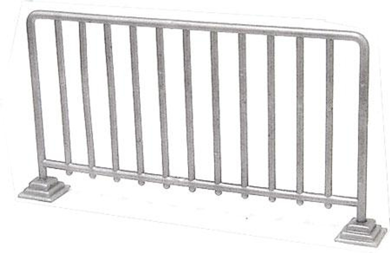 WWE Wrestling Barrier Action Figure Accessory [Silver Loose]