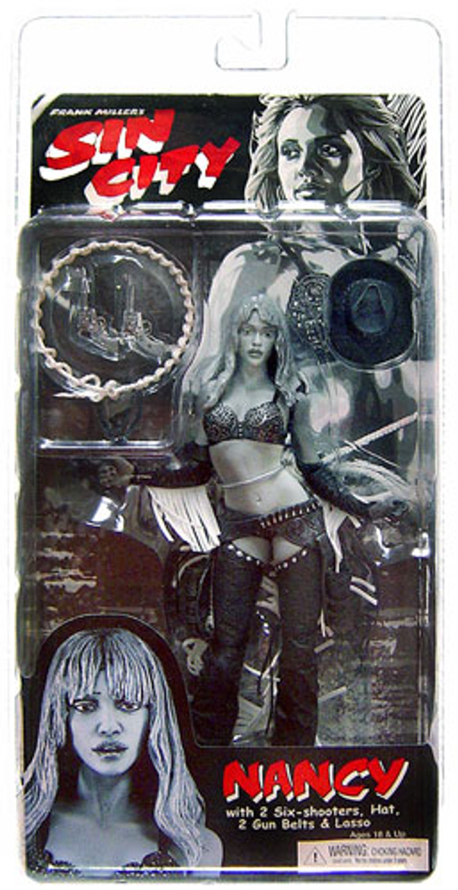 NECA Sin City Series 1 Nancy Action Figure [Straight Hair ]