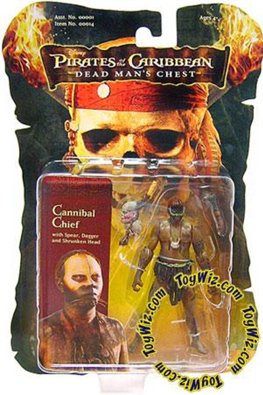 Pirates of the Caribbean Dead Man's Chest Cannibal Chief Action Figure