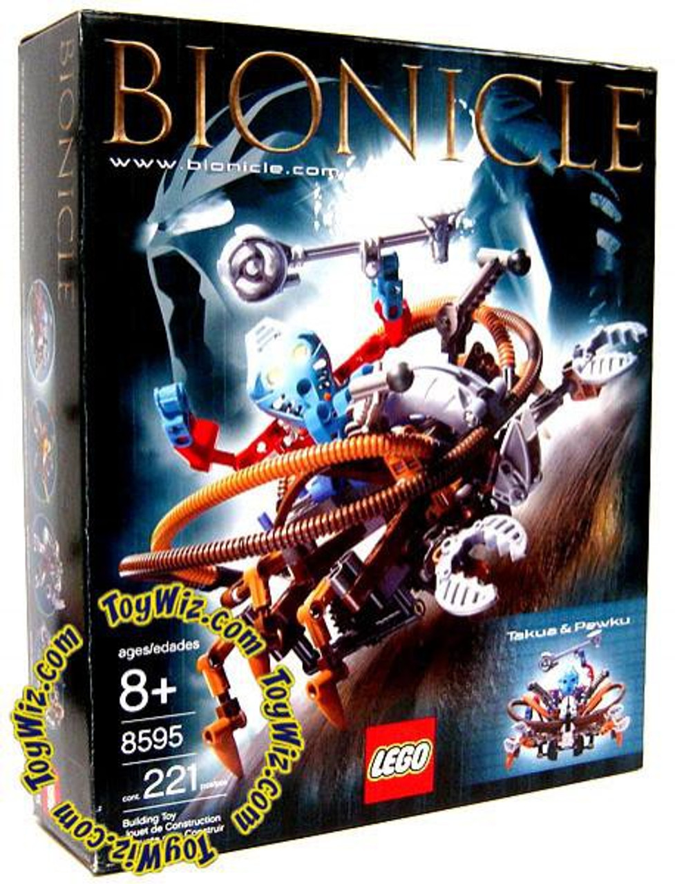 LEGO Bionicle Takua & Pewku Set #8595