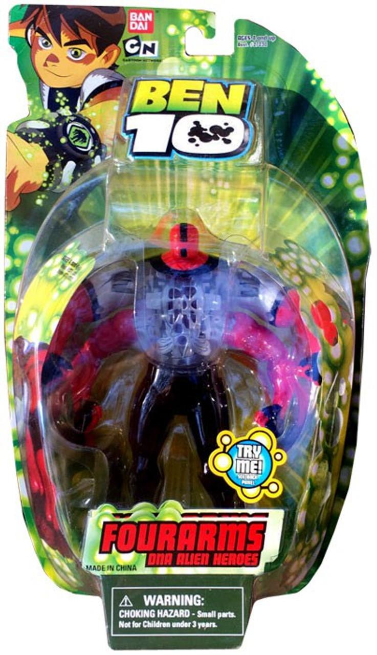 Ben 10 DNA Alien Heroes Four Arms Action Figure