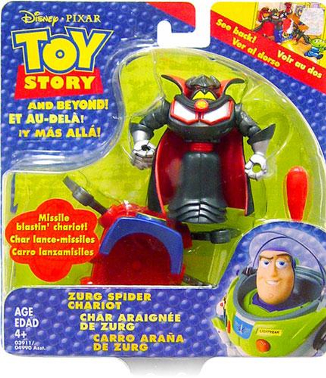 Toy Story and Beyond Zurg Spider Chariot Mini Figure Set