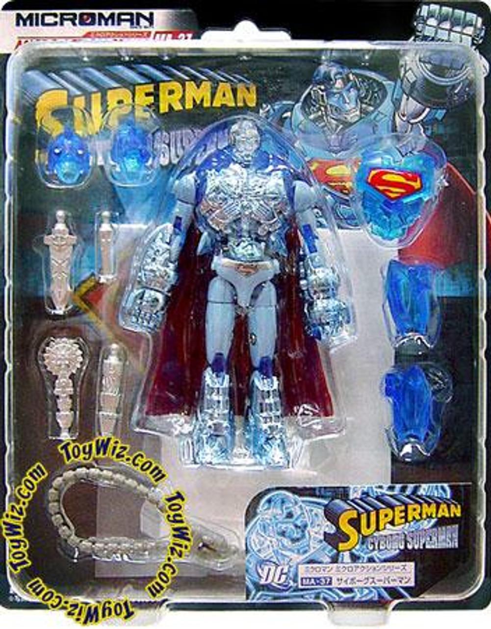 DC Microman Superman Action Figure MA-37 [Cyborg]
