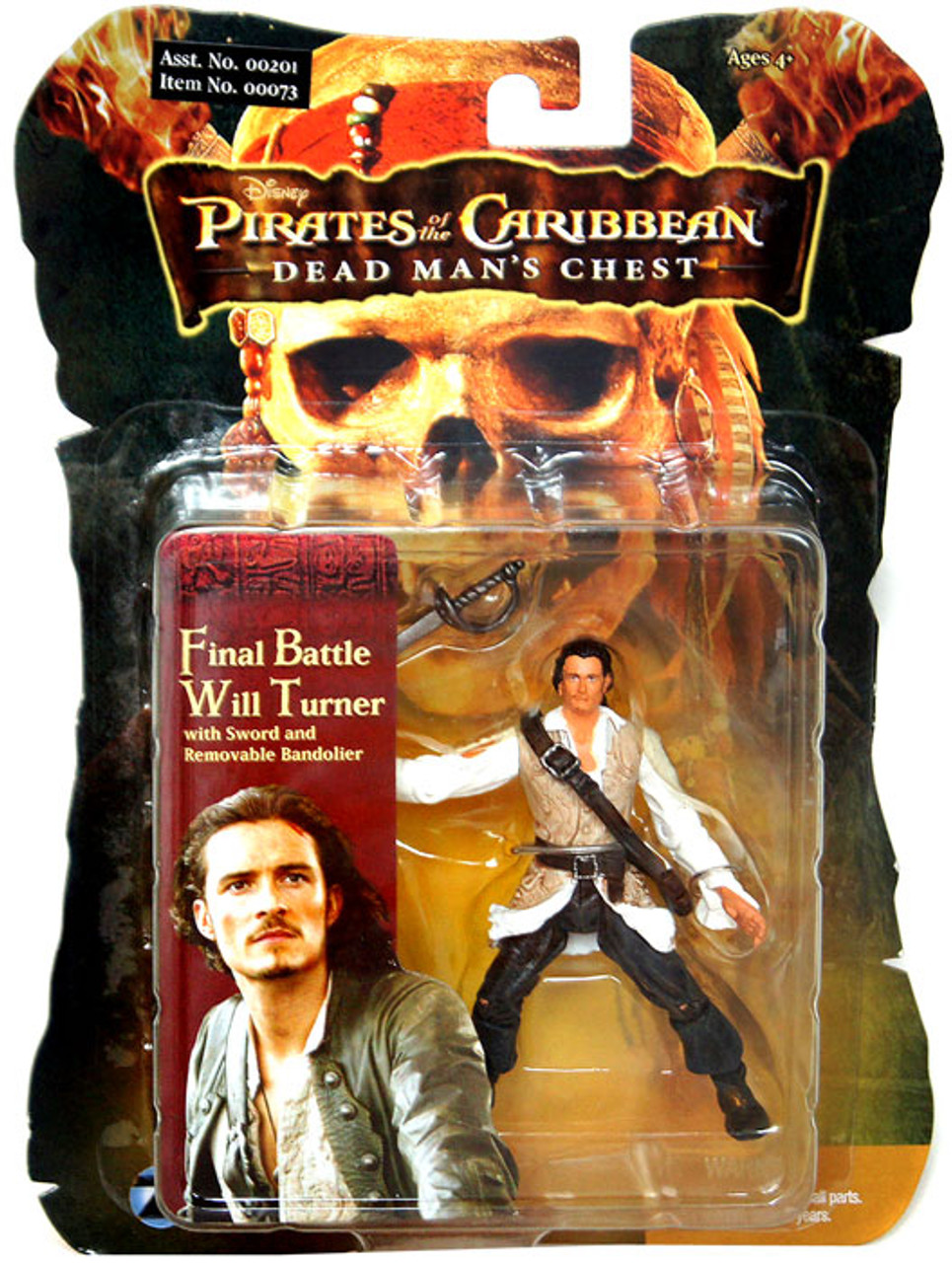 Pirates of the Caribbean Dead Man's Chest Will Turner Action Figure [Final Battle]