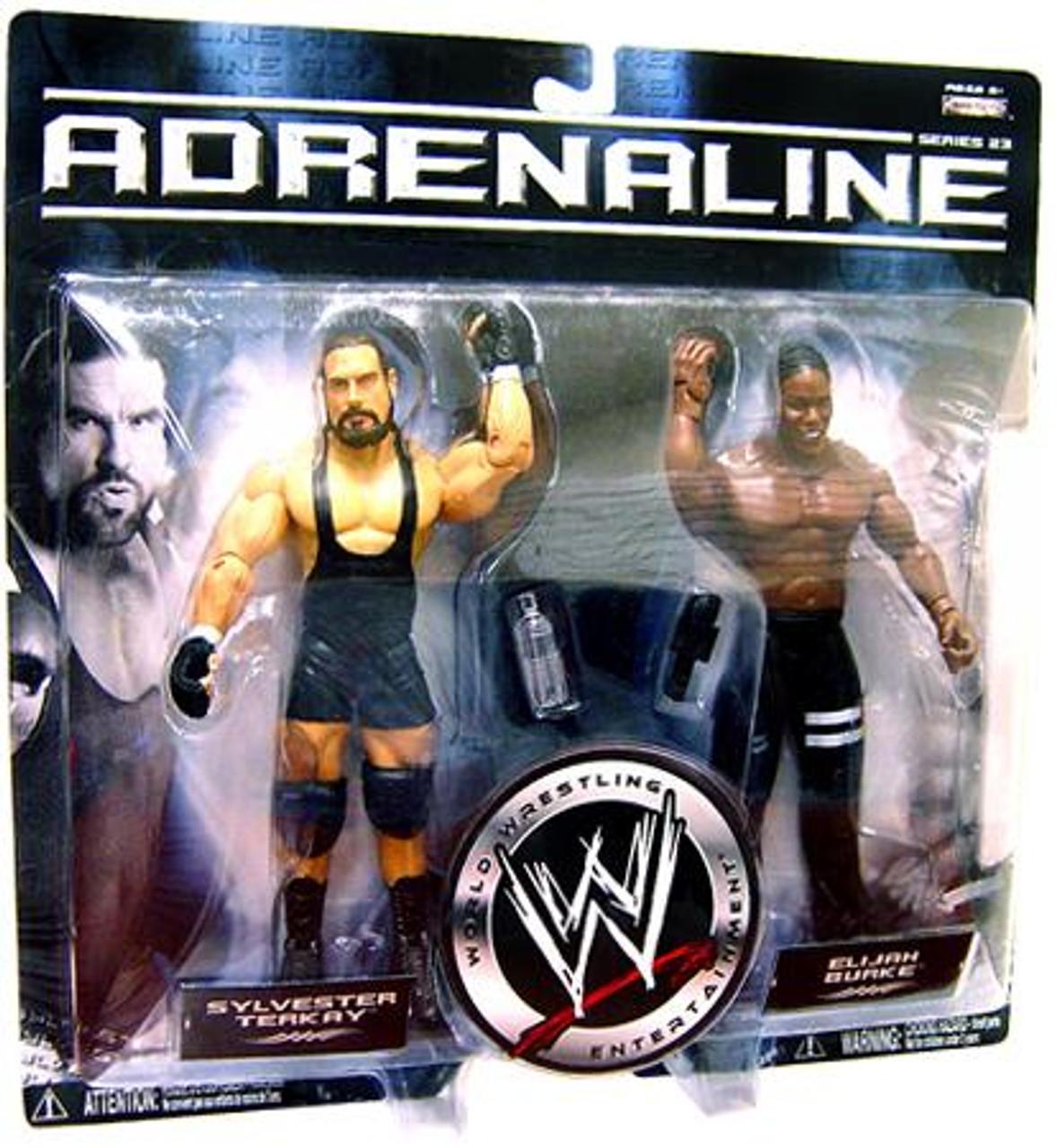 WWE Wrestling Adrenaline Series 23 Elijah Burke & Sylvester Terkay Action Figure 2-Pack