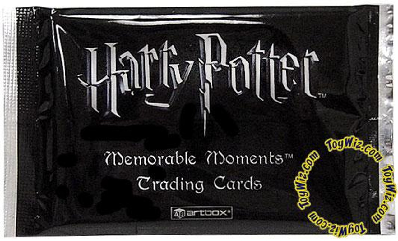 Harry Potter Memorable Moments Trading Card Pack