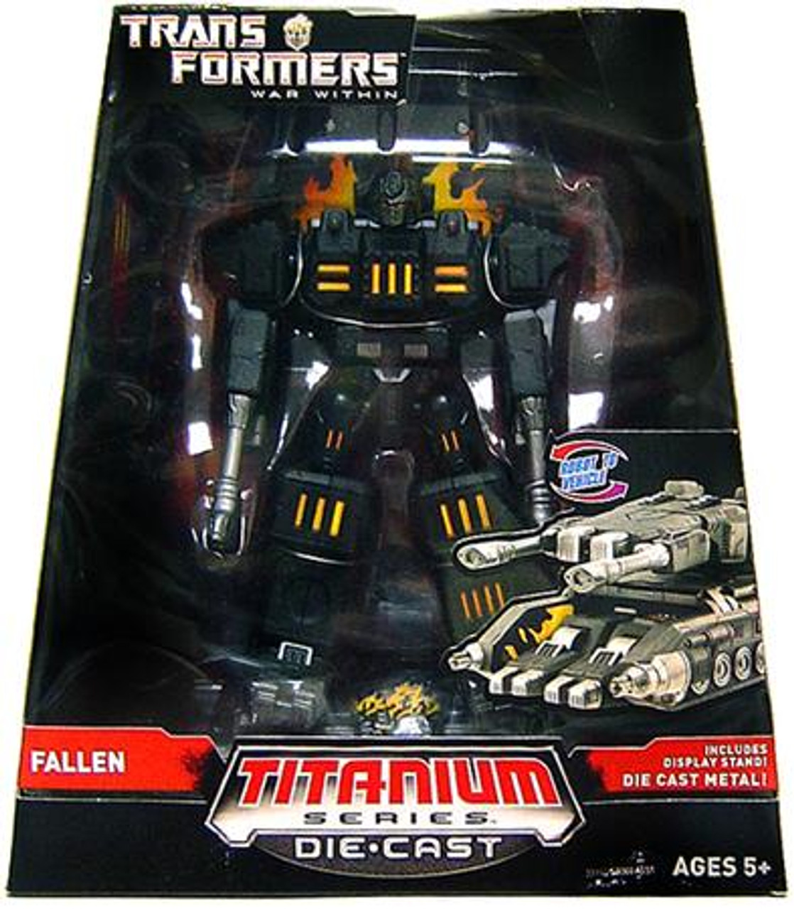 "Transformers War Within TItanium Series The Fallen 6-Inch 6"" Diecast Figure"