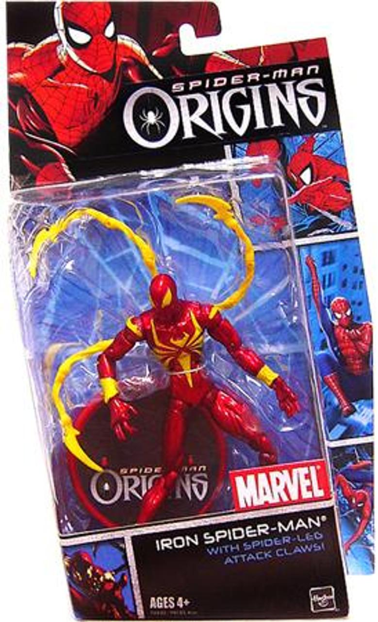 Spider-Man Origins Heroes Series 2 Iron Spider-Man Action Figure