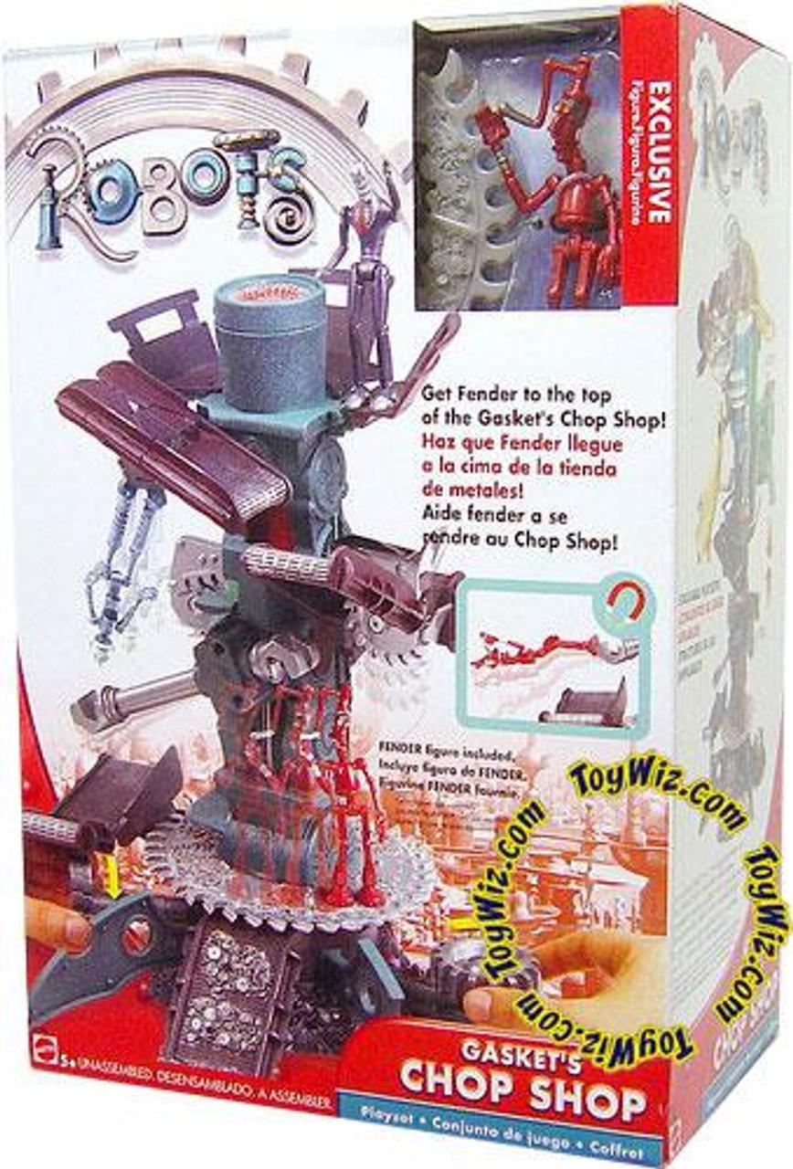 Robots Gasket's Chop Shop Exclusive Playset