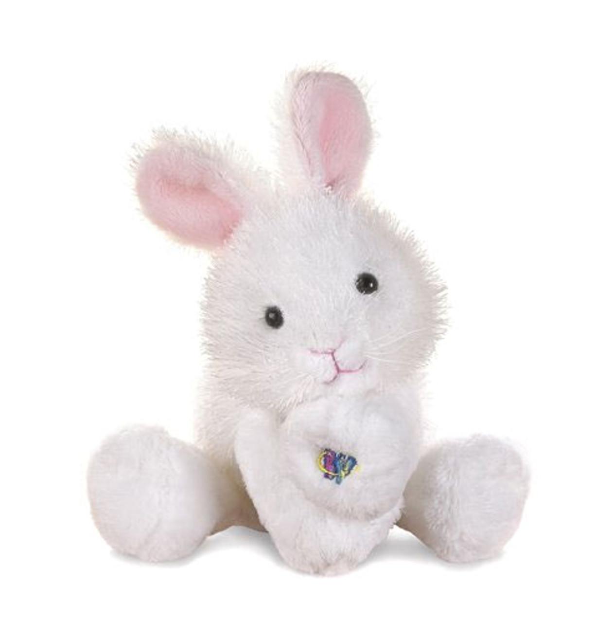 Webkinz Lil' Kinz White Bunny Rabbit Plush