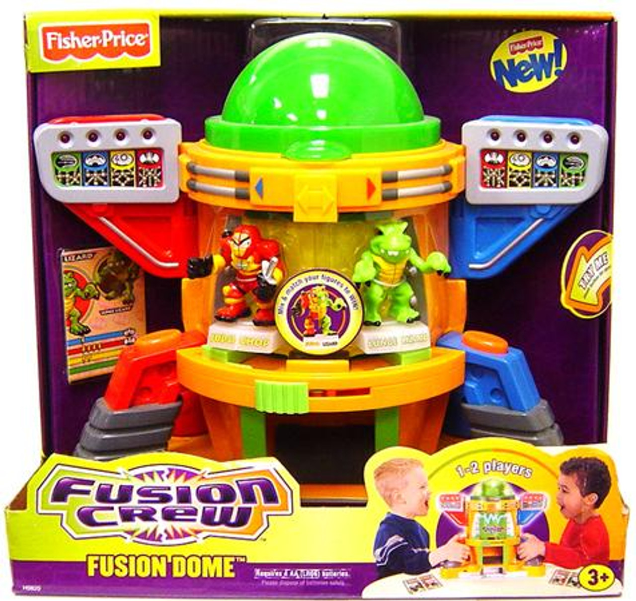Fisher Price Fusion Crew Fusion Dome Playset