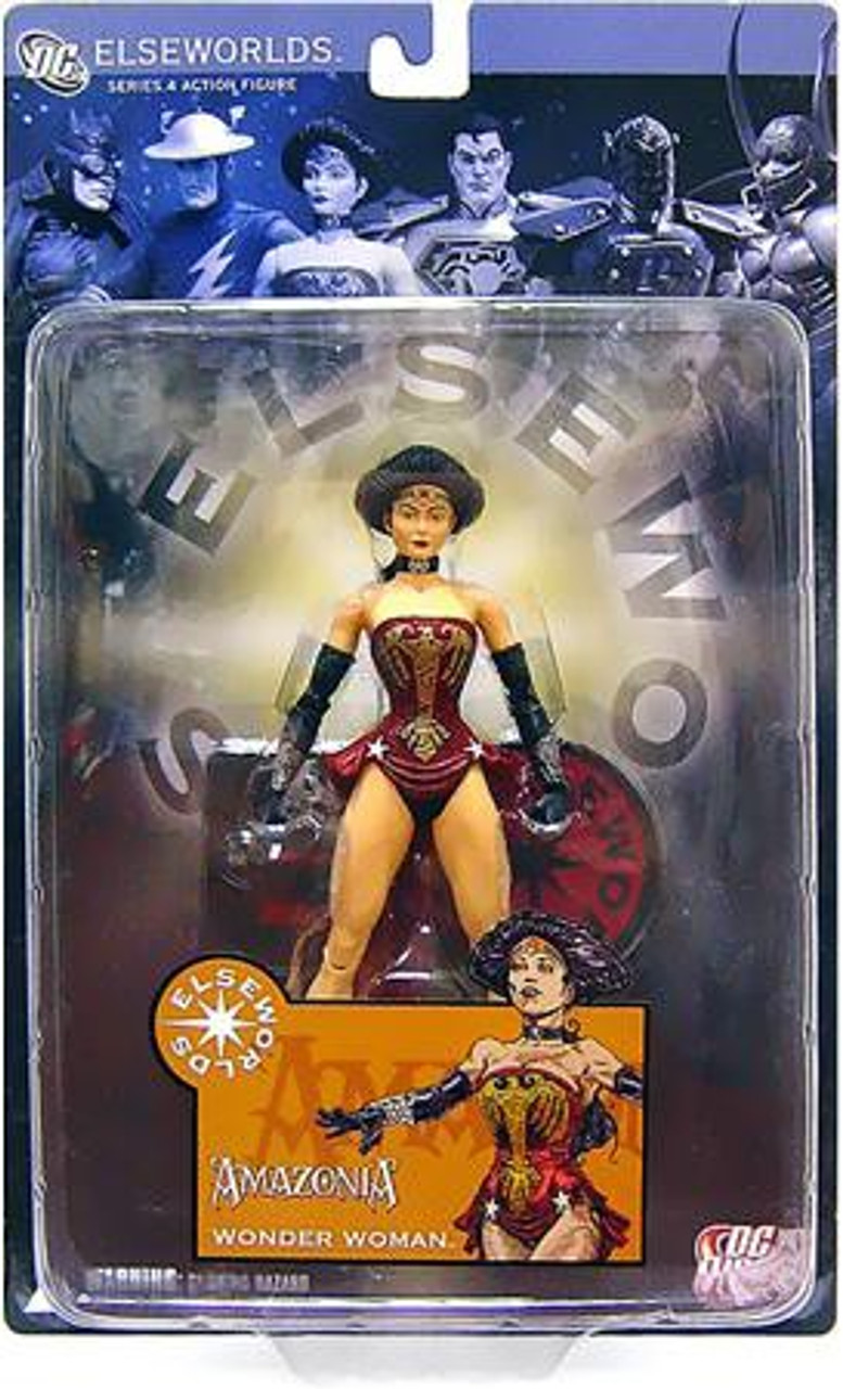 DC Elseworlds Series 4 Amazonia Wonder Woman Action Figure
