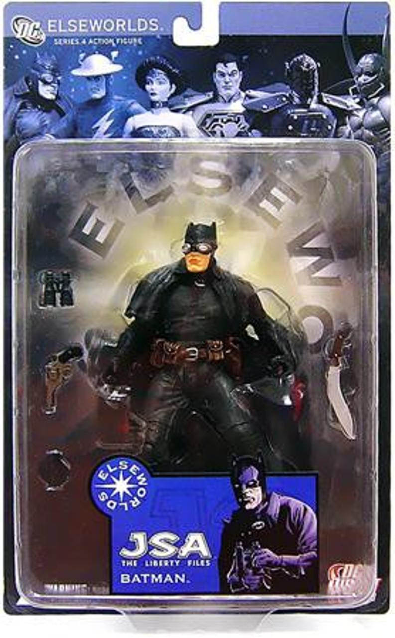 Elseworlds Series 4 JSA The Liberty Files Batman Action Figure