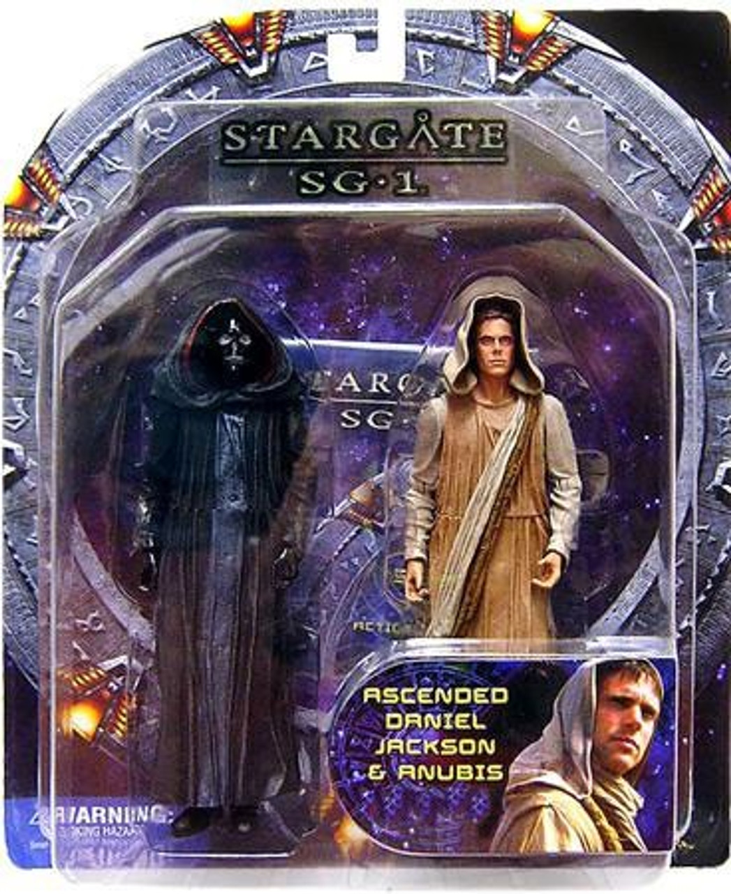 Stargate SG-1 Ascended Daniel Jackson & Anubis Exclusive Action Figure 2-Pack
