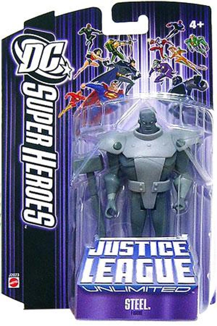 DC Justice League Unlimited Super Heroes Steel Action Figure [Purple]