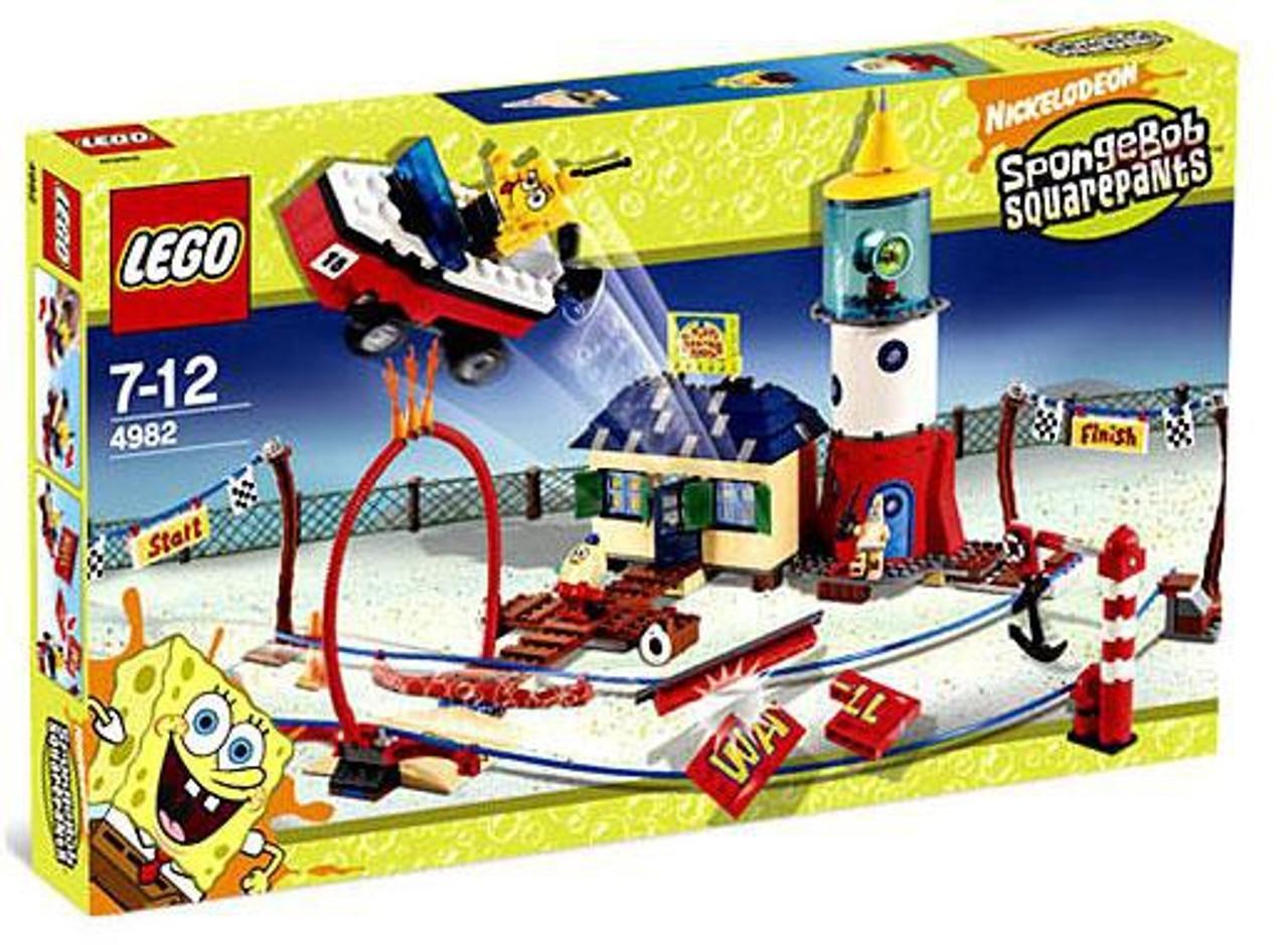 LEGO Spongebob Squarepants Mrs. Puff's Boating School Set #4982