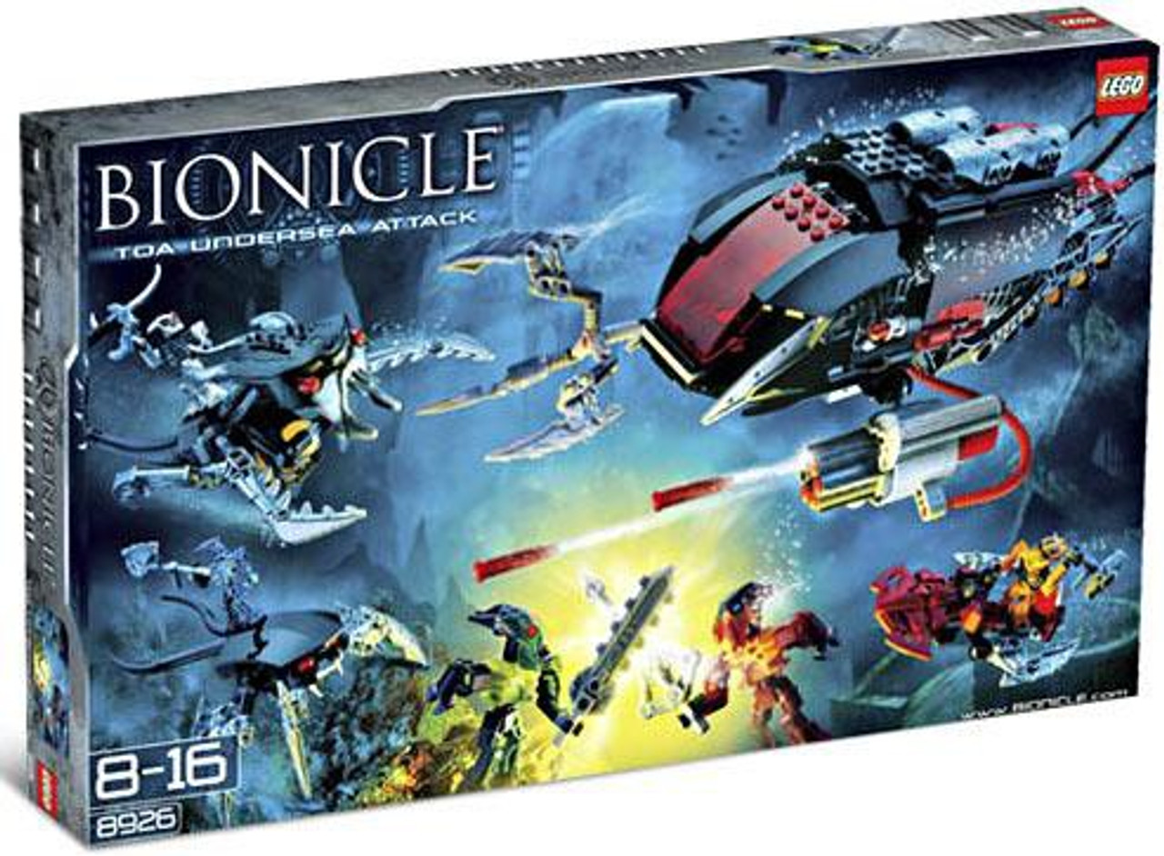 LEGO Bionicle Undersea Attack Set #8926