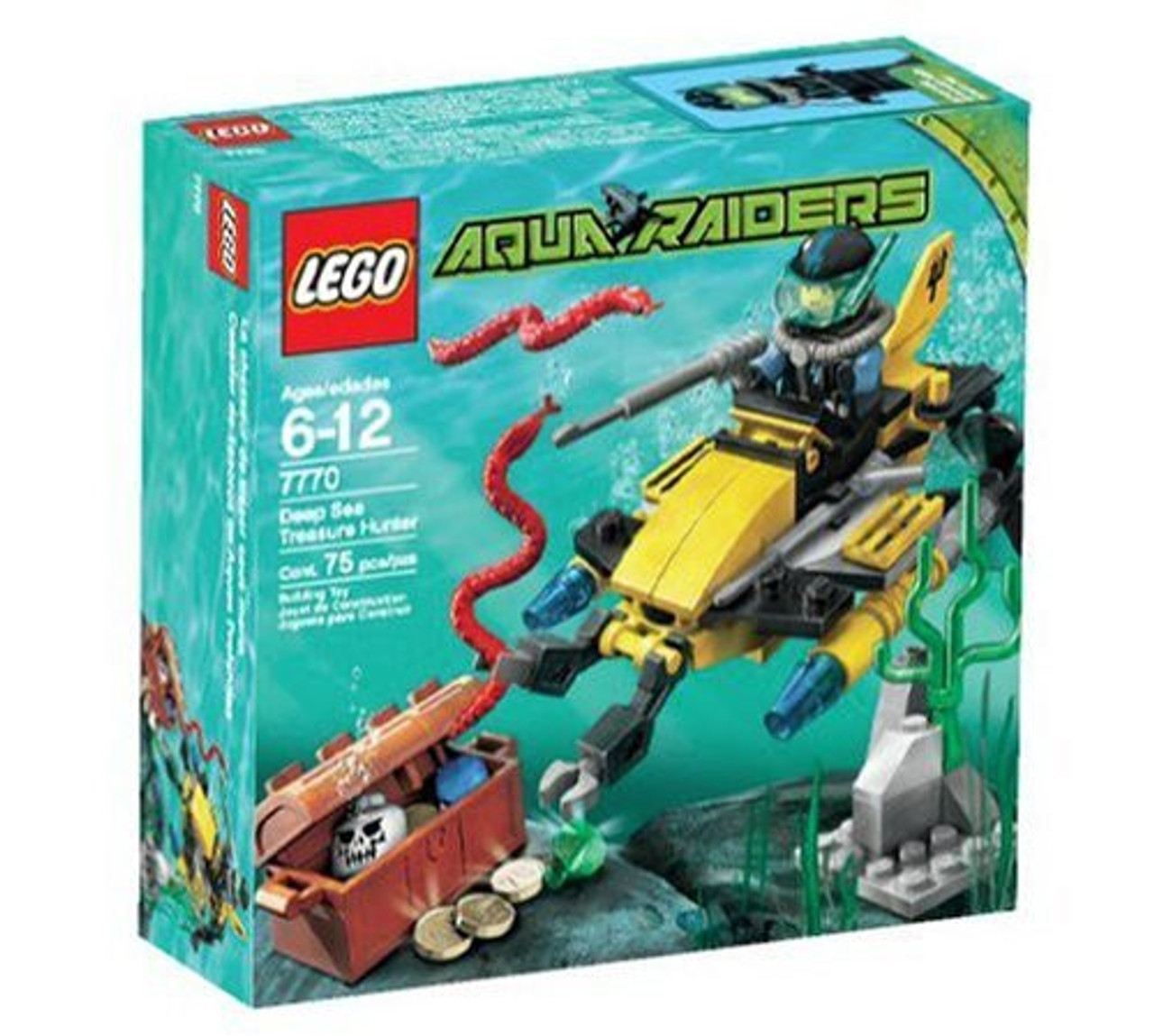 LEGO Aqua Raiders Deep Sea Treasure Hunters Set #7770