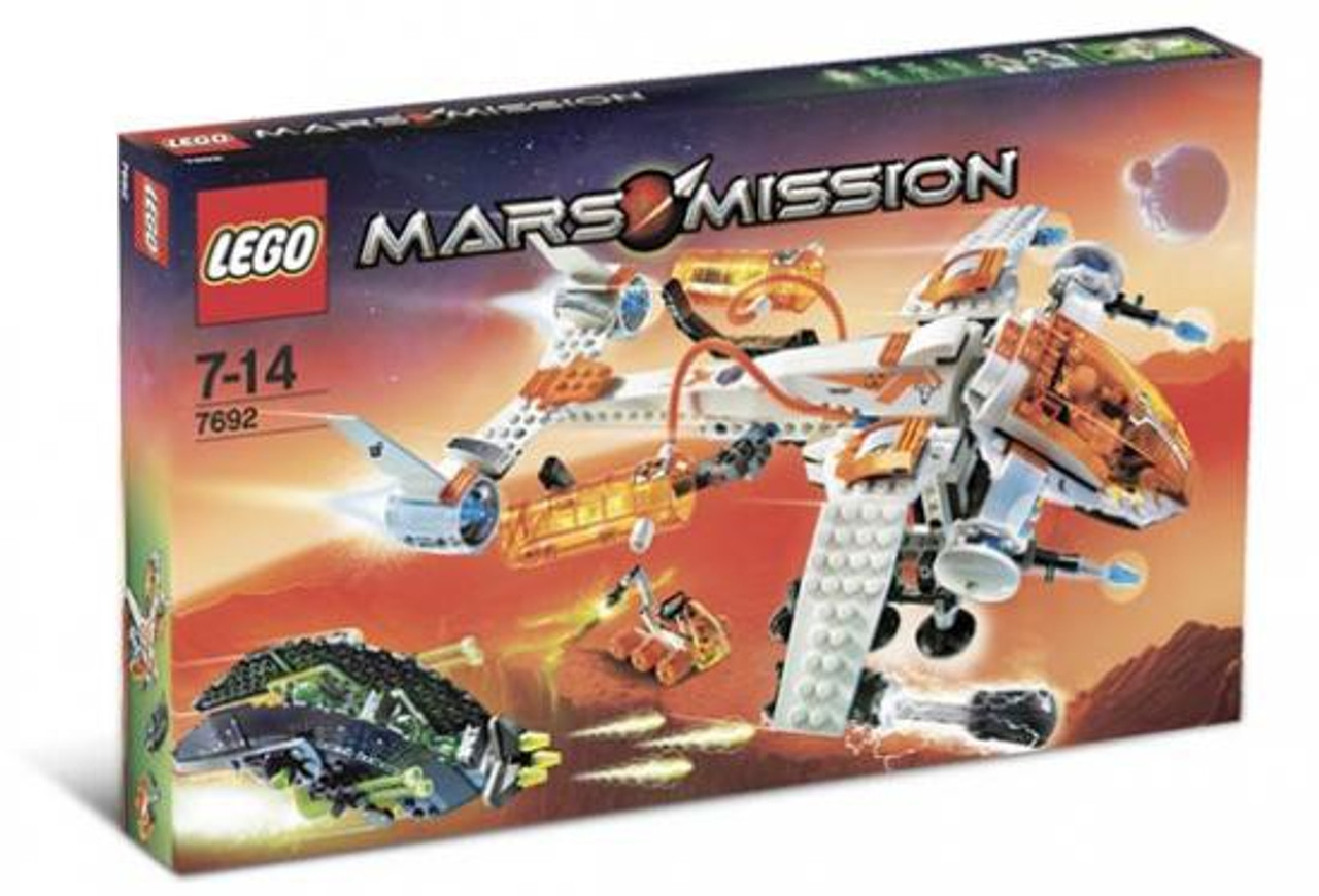LEGO Mars Mission MX-71 Recon Dropship Set #7692