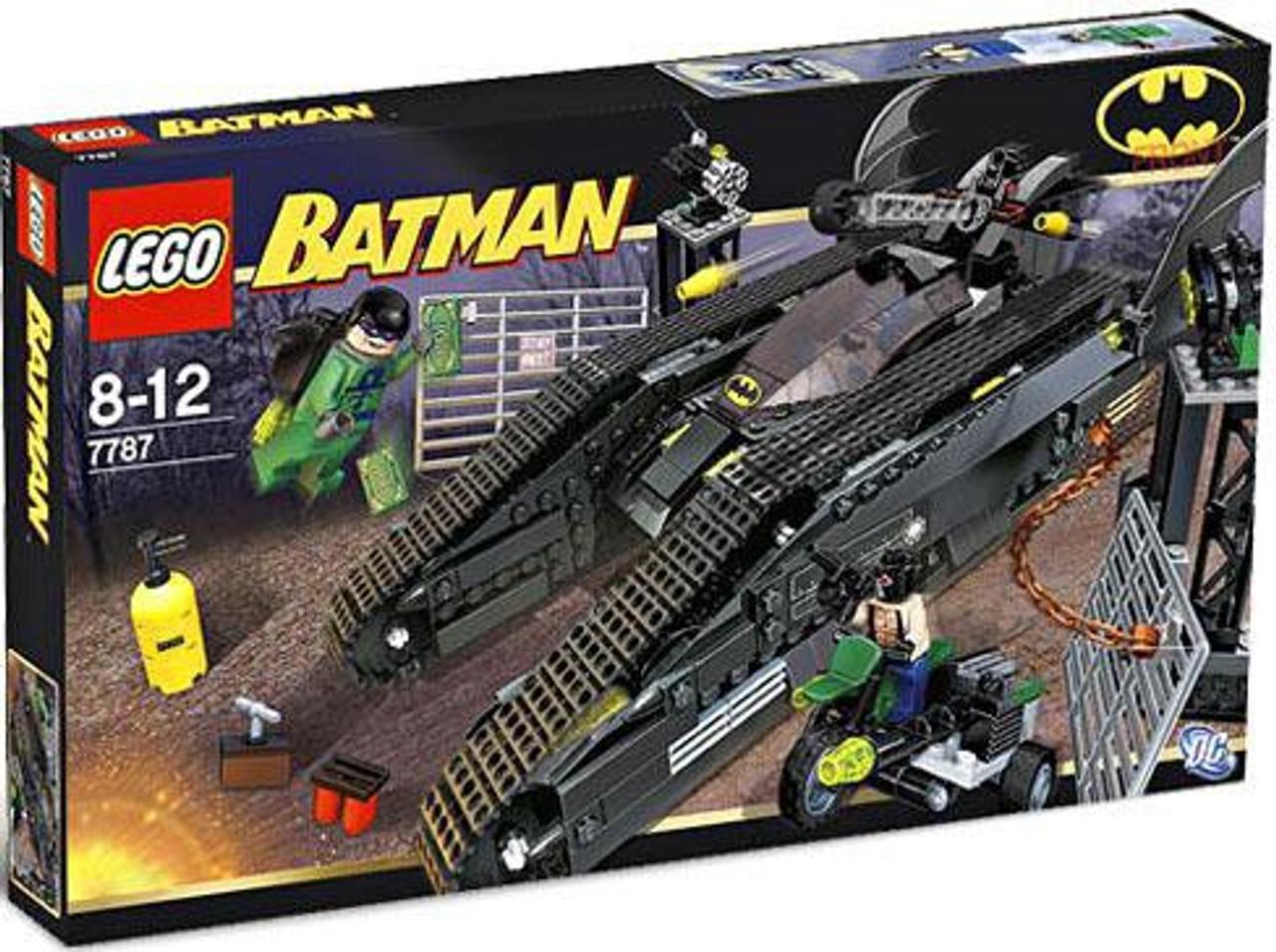 LEGO Batman The Bat Tank: Riddler & Bane's Hideout Set #7787