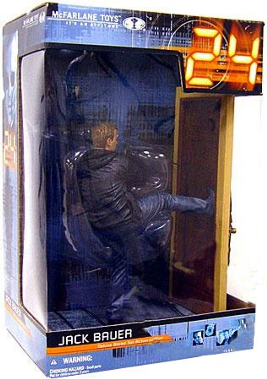 McFarlane Toys 24 Deluxe Boxed Sets Jack Bauer Action Figure #2