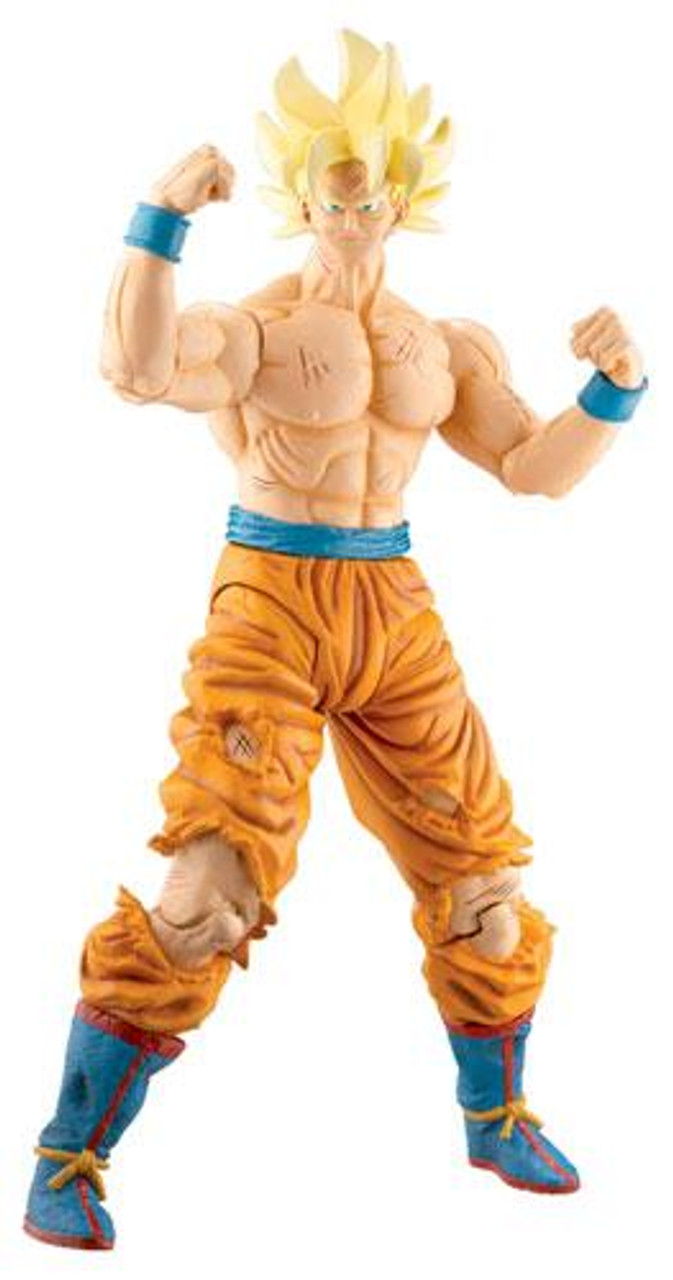 Dragon Ball Z Series 17 Movie Collection SS Goku Action Figure