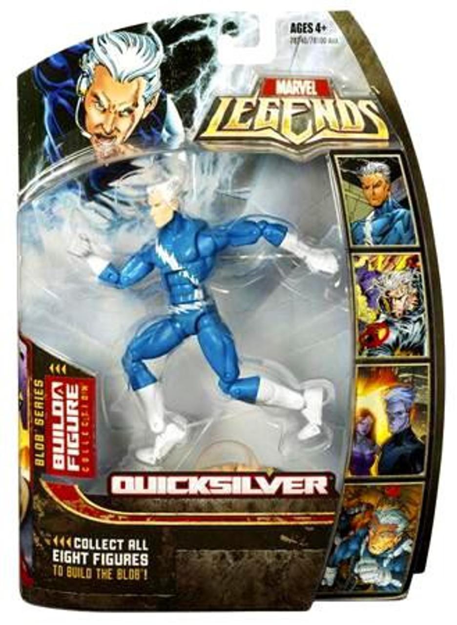 Marvel Legends Series 17 Blob Quicksilver Action Figure [Blue]