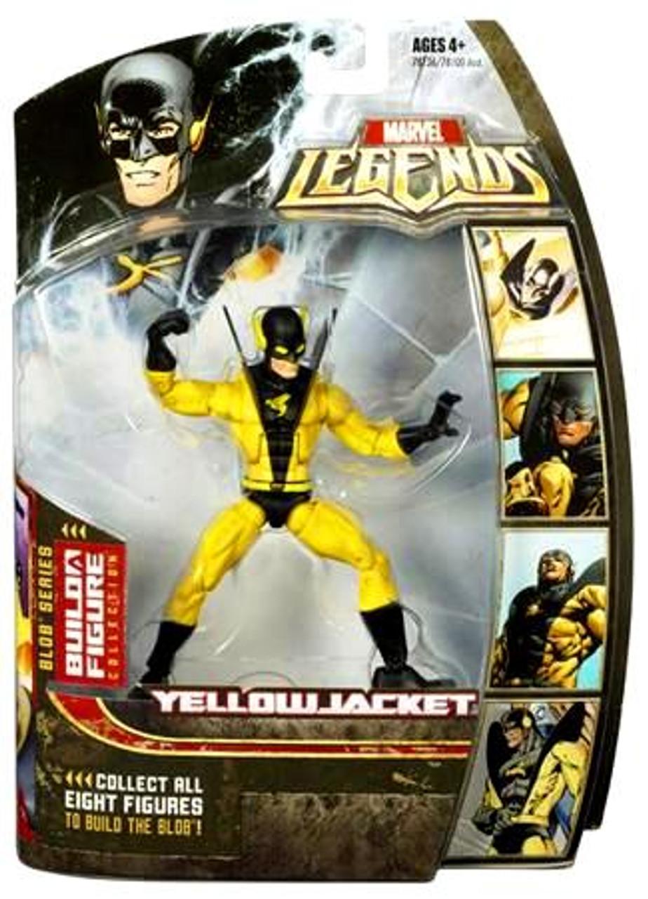 Marvel Legends Series 17 Blob Yellowjacket Action Figure