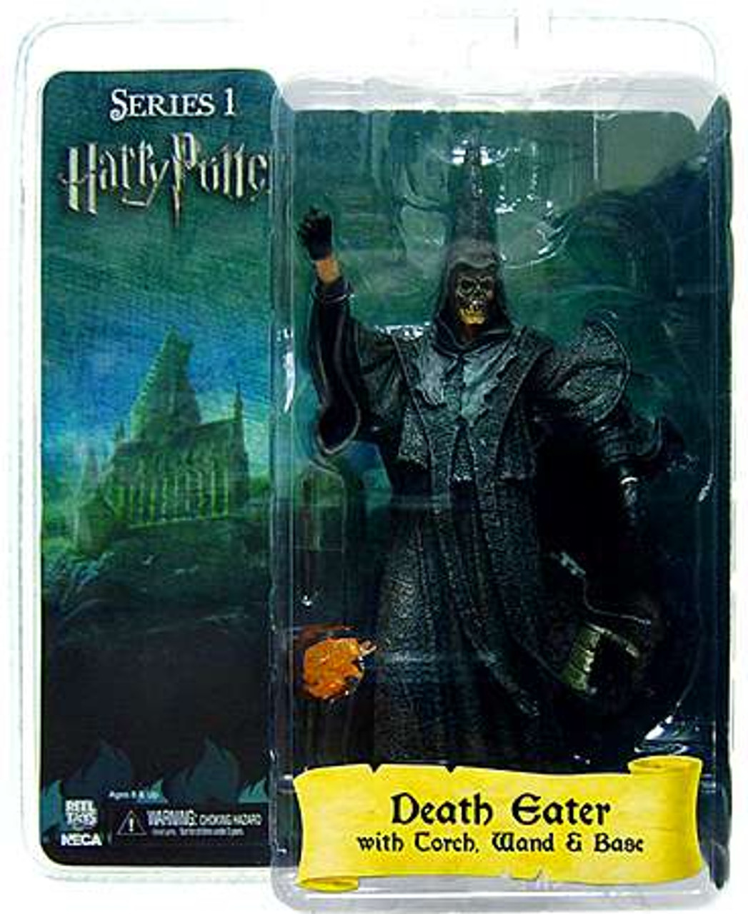 NECA Harry Potter The Goblet of Fire Death Eater Action Figure [Skull Mask]