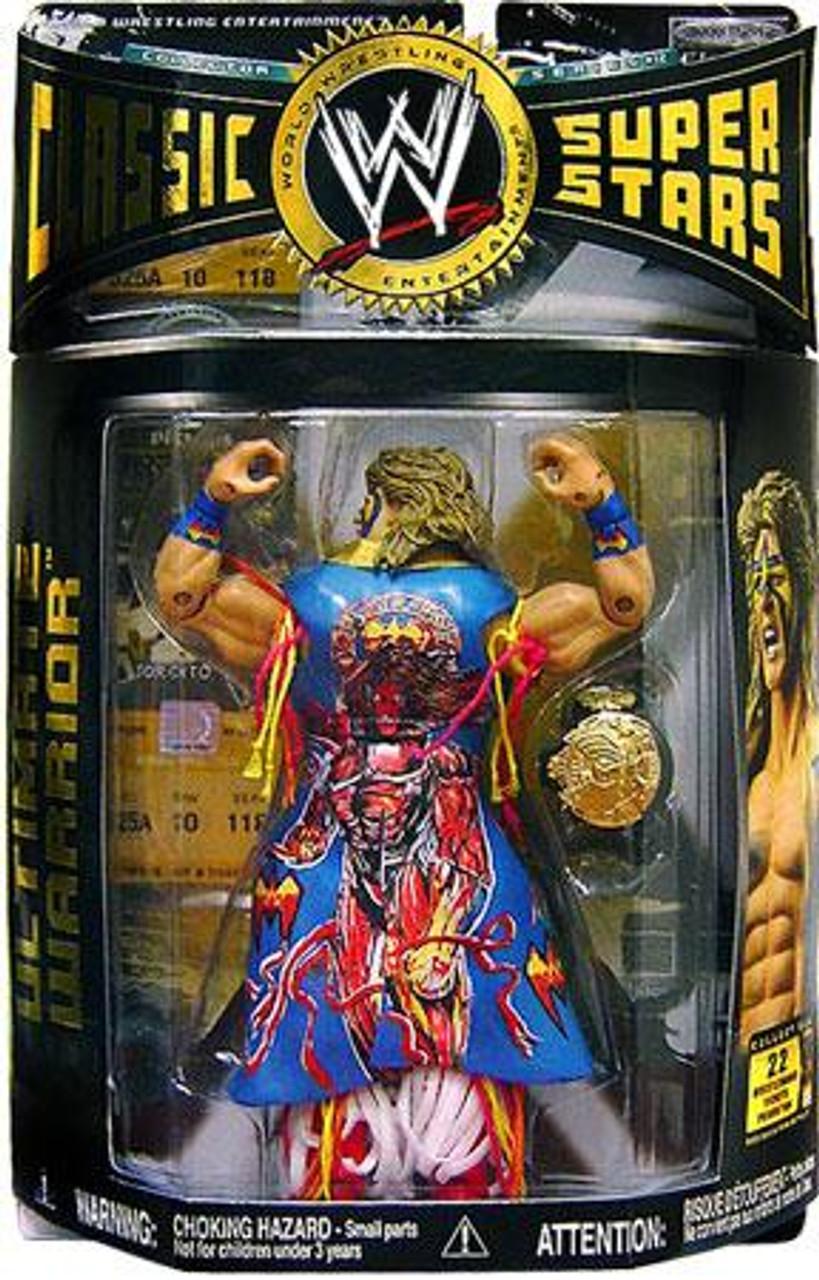 WWE Wrestling Classic Superstars Series 12 Ultimate Warrior Action Figure [Backwards Variant]