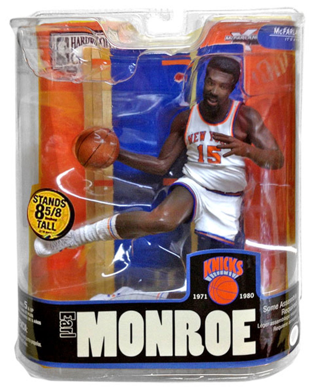 McFarlane Toys NBA New York Knicks Sports Picks Legends Series 3 Earl Monroe Action Figure