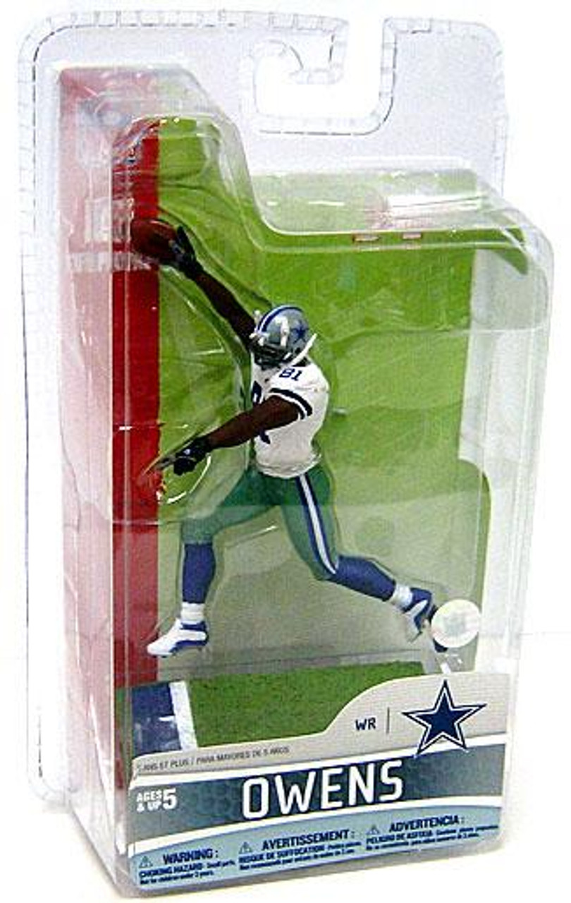 McFarlane Toys NFL Dallas Cowboys Sports Picks Series 5 Mini Terrell Owens 3-Inch Mini Figure