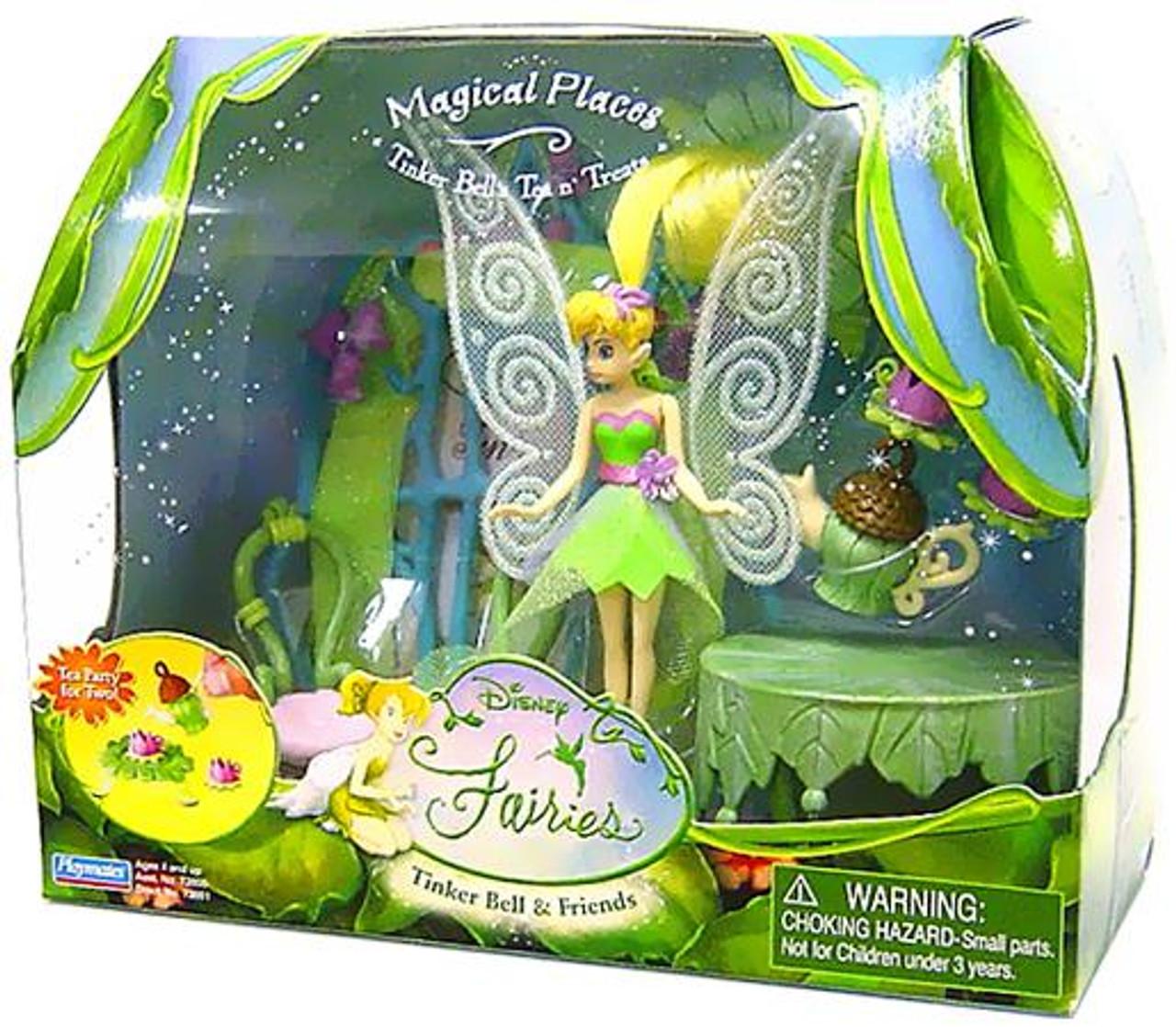 Disney Fairies Tinker Bell & Friends Tinker Bell's Tea n' Treats Playset [Magical Places]