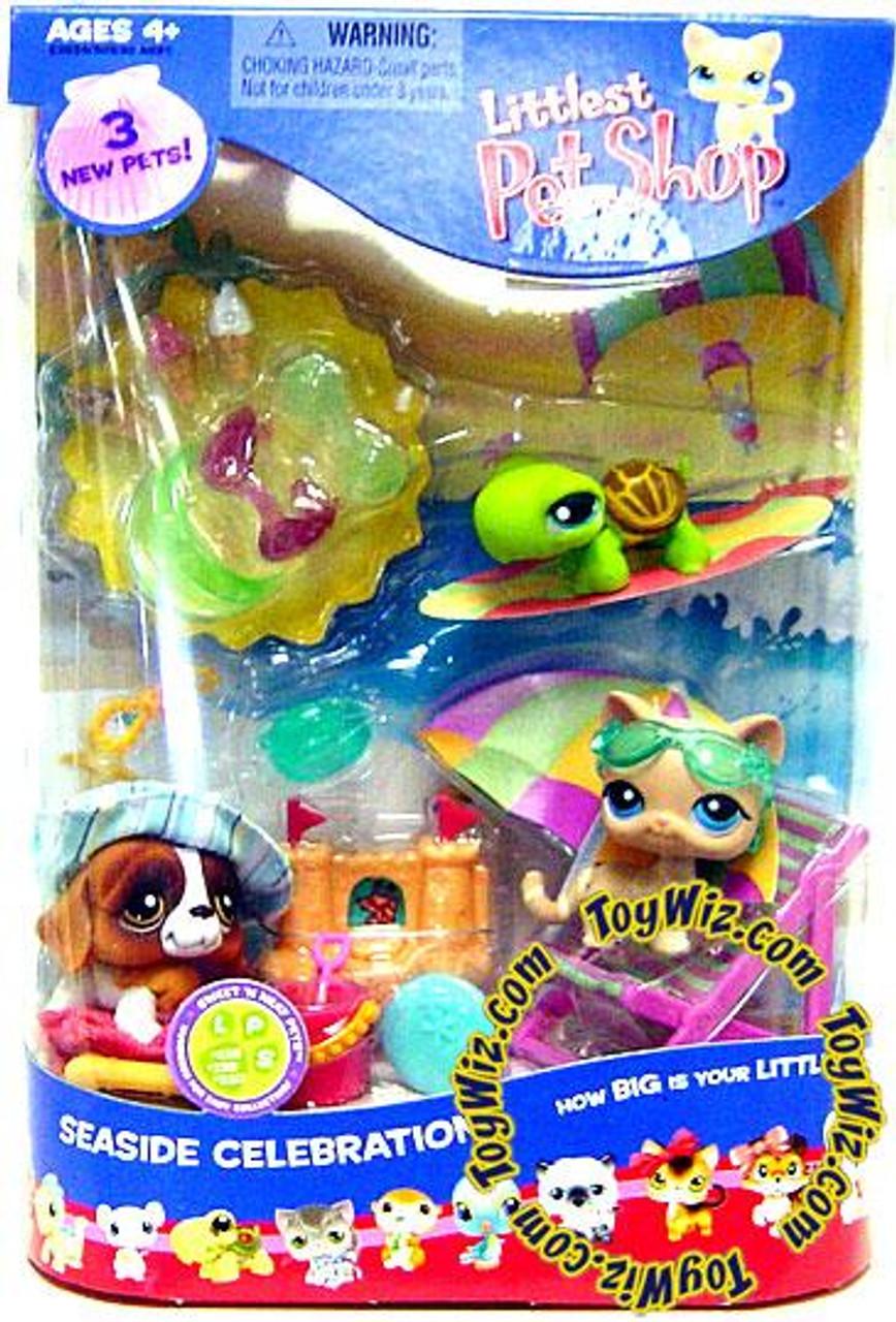Littlest Pet Shop Summer Seaside Celebration Playset #2