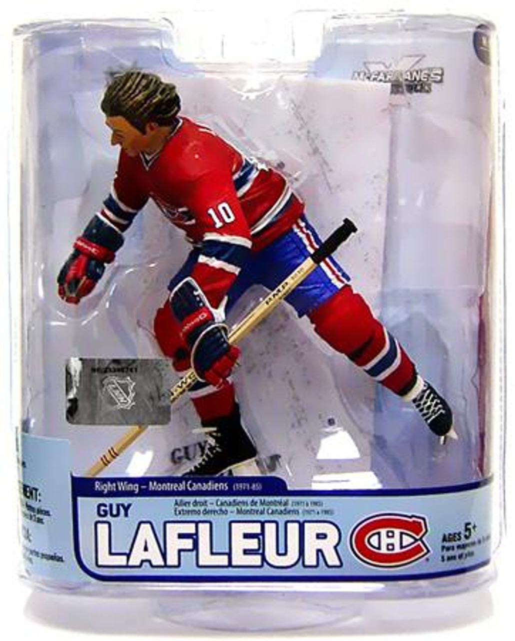 McFarlane Toys NHL Montreal Canadiens Sports Picks Legends Series 5 Guy LaFleur Action Figure
