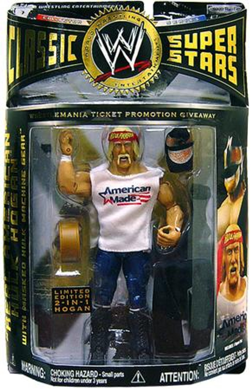 WWE Wrestling Classic Superstars Exclusives American Made Hulk Hogan Exclusive Action Figure