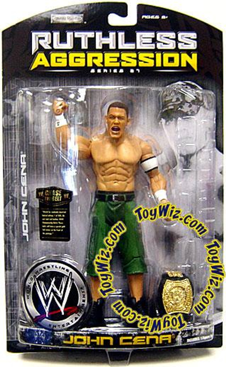 WWE Wrestling Ruthless Aggression Series 27 John Cena Action Figure